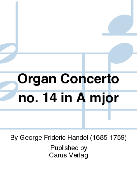 Organ Concerto no. 14 in A mjor