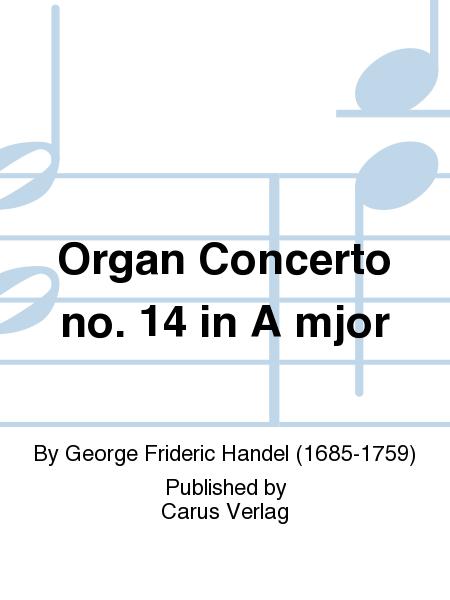 Organ Concerto no. 14 in A mjor