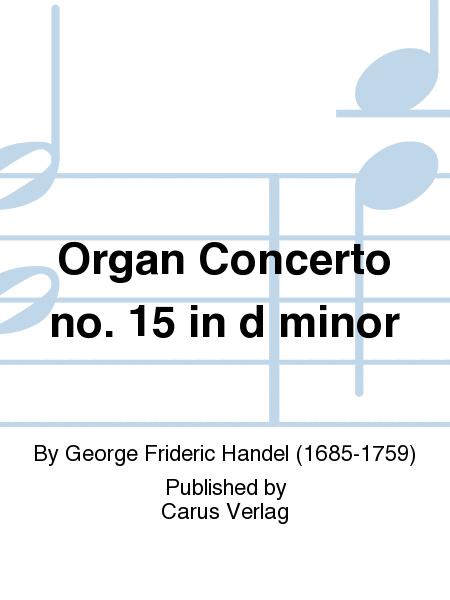 Organ Concerto no. 15 in d minor