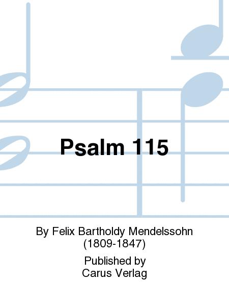 Psalm 115 (Der 115. Psalm)