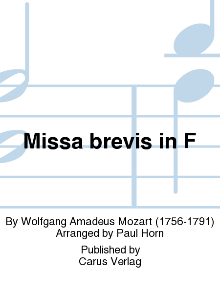 Missa brevis in F major
