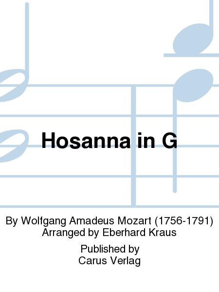 Hosanna in G