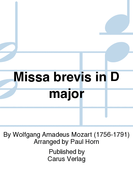 Missa brevis in D major