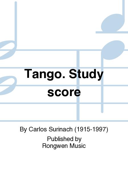 Madrid 1890 3 - Tango, score