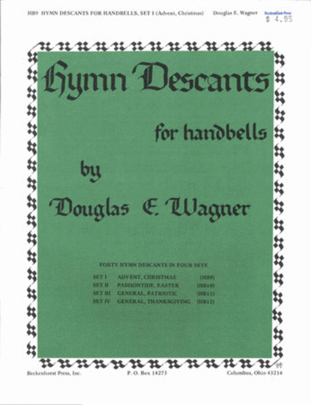 Hymn Descants for Handbells Set I - Advent Christmas