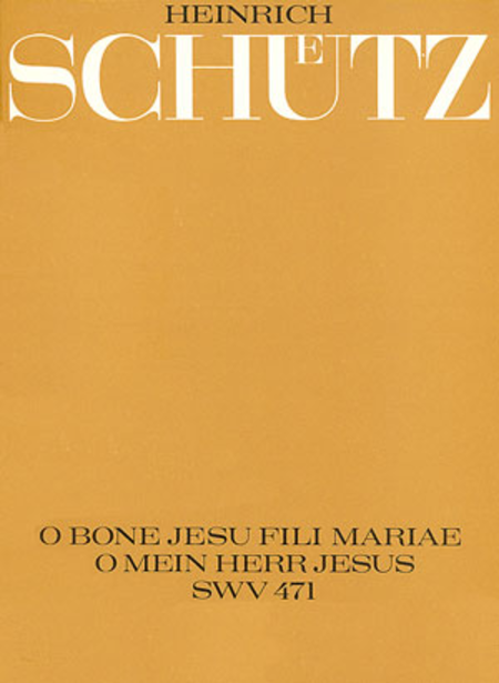 O bone Jesu, fili Mariae