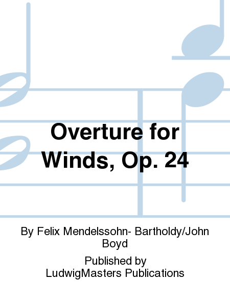 Overture for Winds, Op. 24