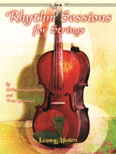Rhythm Sessions for Strings - Score