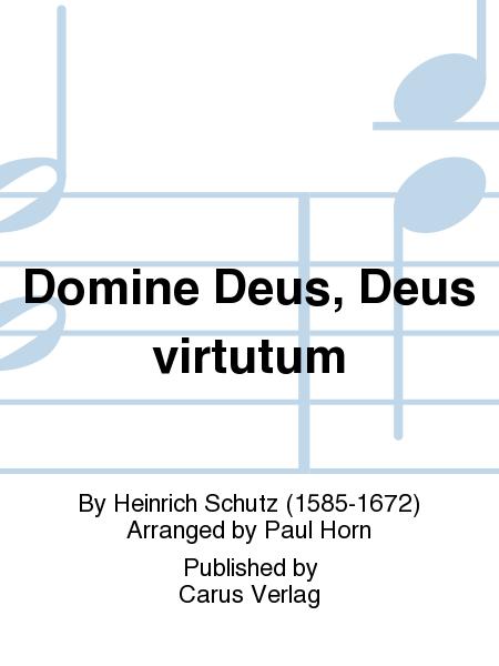 Domine Deus, Deus virtutum