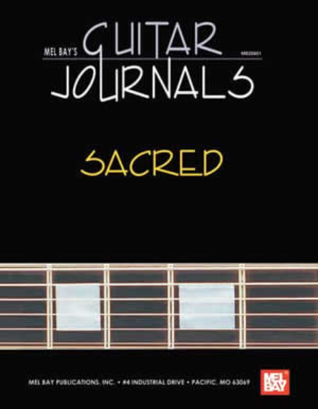 Guitar Journals - Sacred