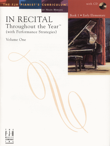 In Recital! Throughout the Year (with Performance Strategies) Volume One, Book 1 (NFMC)