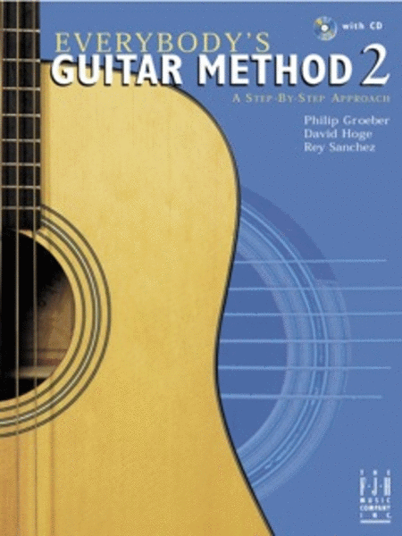 Everybody's Guitar Method, Book 2 (with CD)