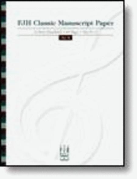FJH Classic Manuscript Paper No. 3