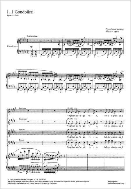 Rossini: Chor- und Ensemblemusik