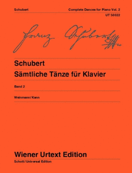 Complete Dances for Piano, Vol. 2