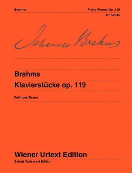 Piano Pieces, Op. 119