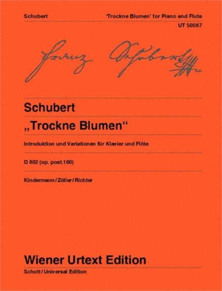 Trockne Blumen, D.802, Op.160