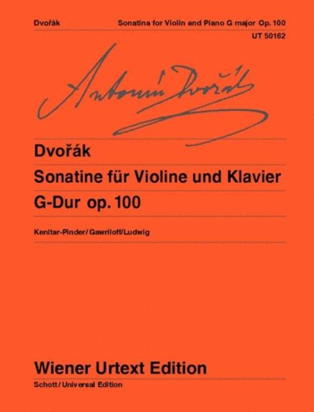 Sonatina for violin and piano G major