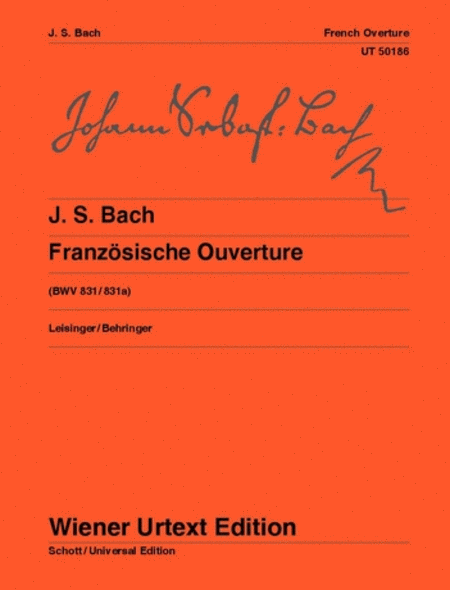French Overture, BWV 831/831a