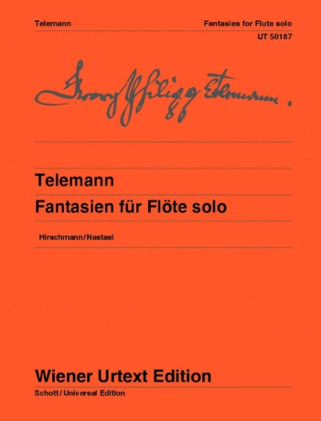 Fantasies for Flute Solo