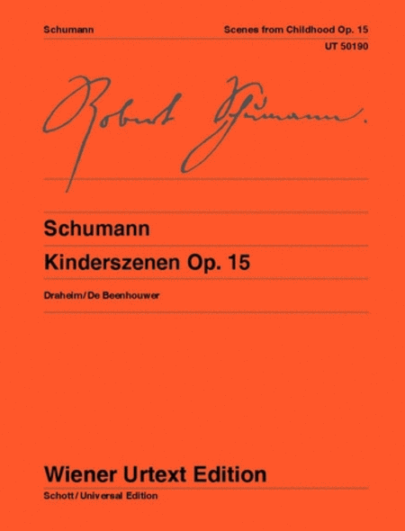 Kinderszenen, Urtext (with critical notes)