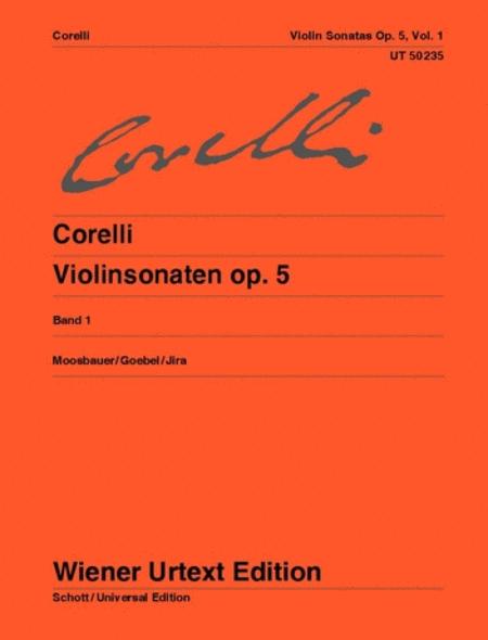 Violin Sonatas, Op. 5 - Volume 1