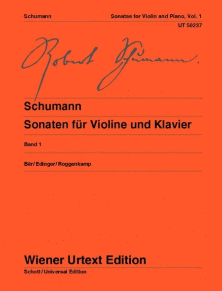 Sonatas for Violin and Piano - Volume 1