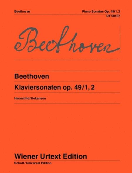 Piano Sonatas, Op. 49/1, 2