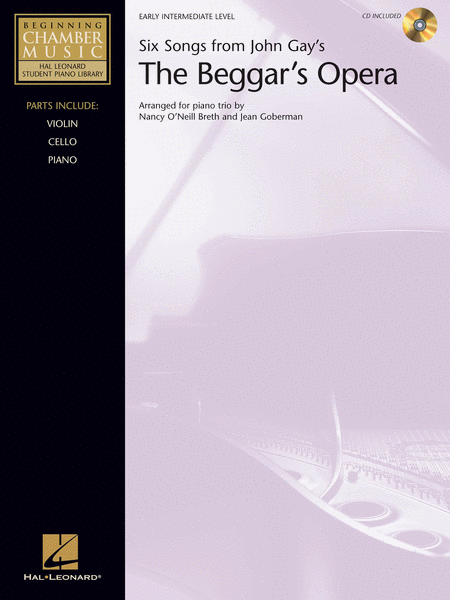 Six Songs from John Gay's The Beggar's Opera - Book/CD Pack