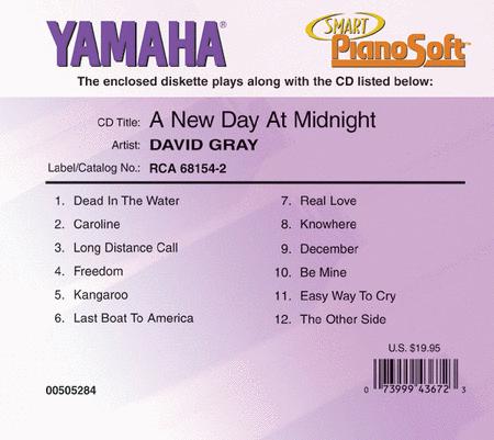 David Gray - A New Day at Midnight - Piano Software