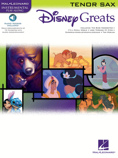Disney Greats - Tenor Saxophone (Book/CD Package)