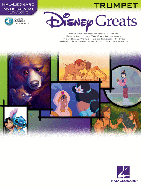 Disney Greats - Trumpet (Book/CD Package)