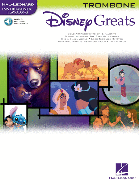 Disney Greats - Trombone (Book/CD Package)