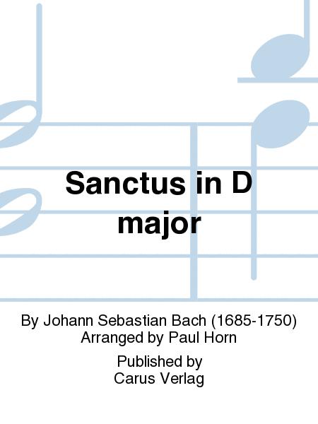 Sanctus in D major