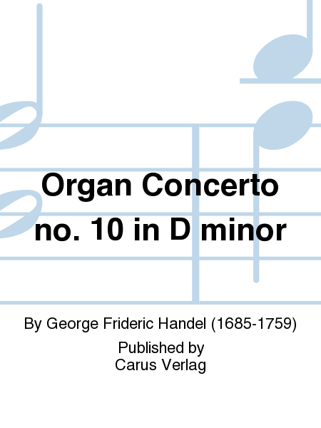 Organ Concerto no. 10 in D minor