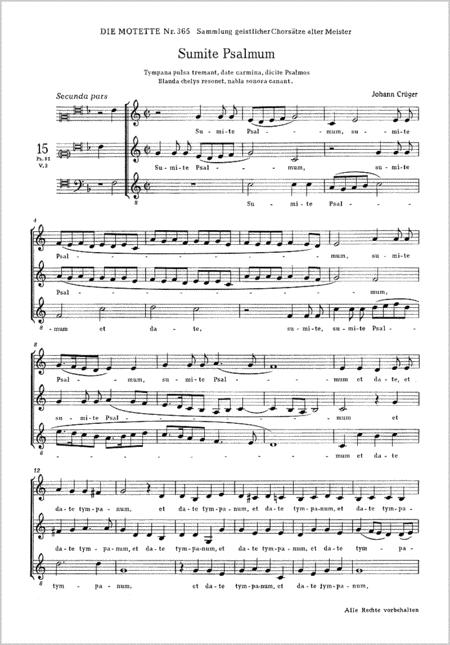 Sumite psalmum