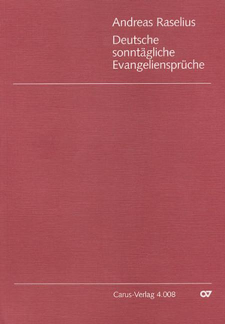 Deutsche sonntagliche Evangelienspruche (1594)