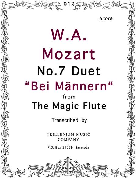 No.7 Duet 'Bei Mannern.'
