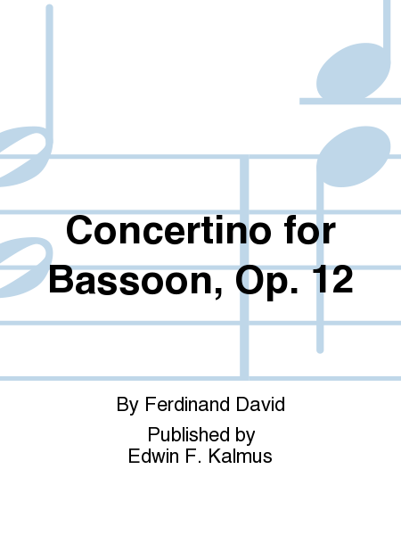 Concertino for Bassoon, Op. 12