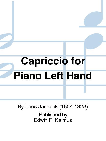 Capriccio for Piano Left Hand