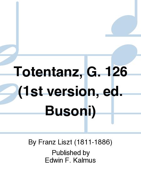 Totentanz, G. 126 (1st version, ed. Busoni)
