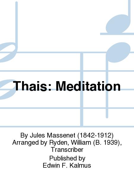 Thais: Meditation