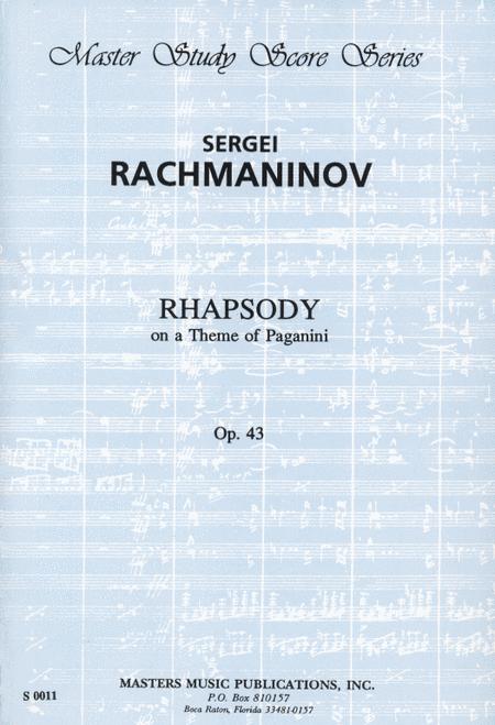 Rhapsody on a Theme of Paganini, Op. 43
