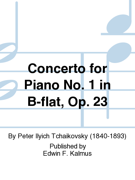 Concerto for Piano No. 1 in B-flat, Op. 23