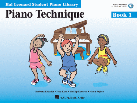 Piano Technique Book 1 - Book/Enhanced CD Pack