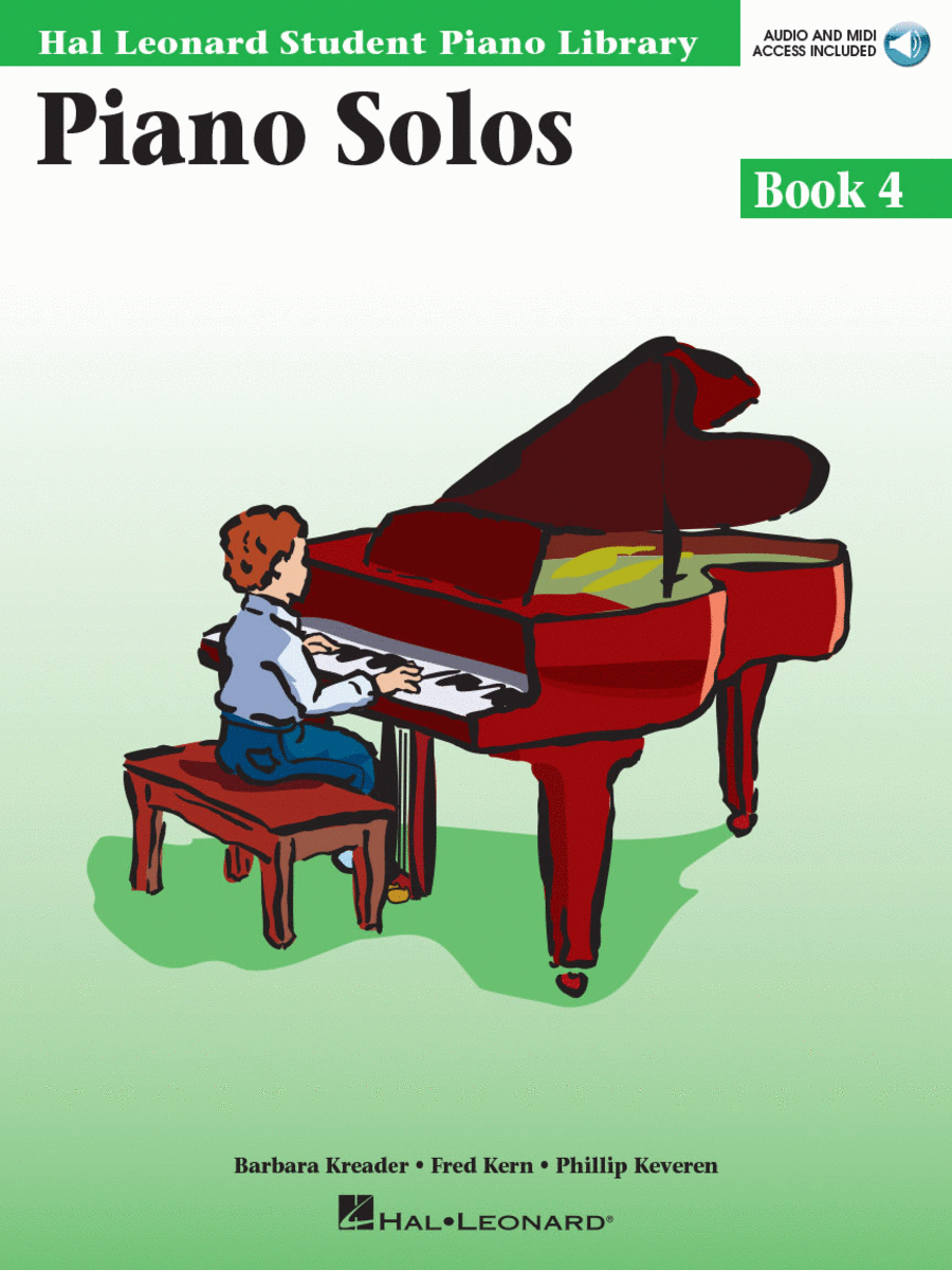 Piano Solos Book 4 - Book with Online Audio