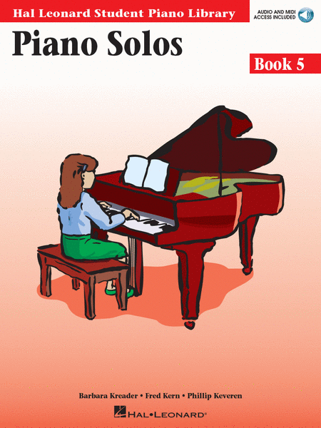 Piano Solos Book 5 - Book/Enhanced CD Pack