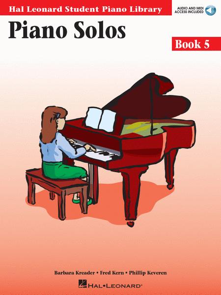 Piano Solos Book 5 - Book/Online Audio