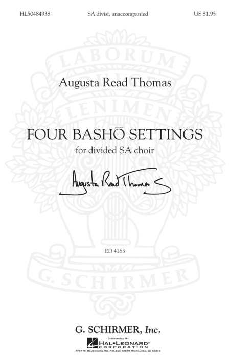 Four Basho Settings