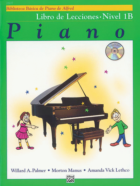 Alfred's Basic Piano Course - Level 1B Book & CD (Spanish Edition)